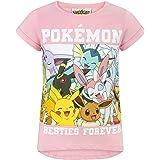 Pokemon Childrens/Girls Besties Forever T-Shirt