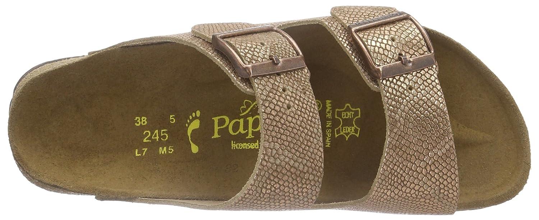 Papillio Arizona Damen Pantoletten Pantoletten Damen Braun (Royal Python Braun) ea85c8