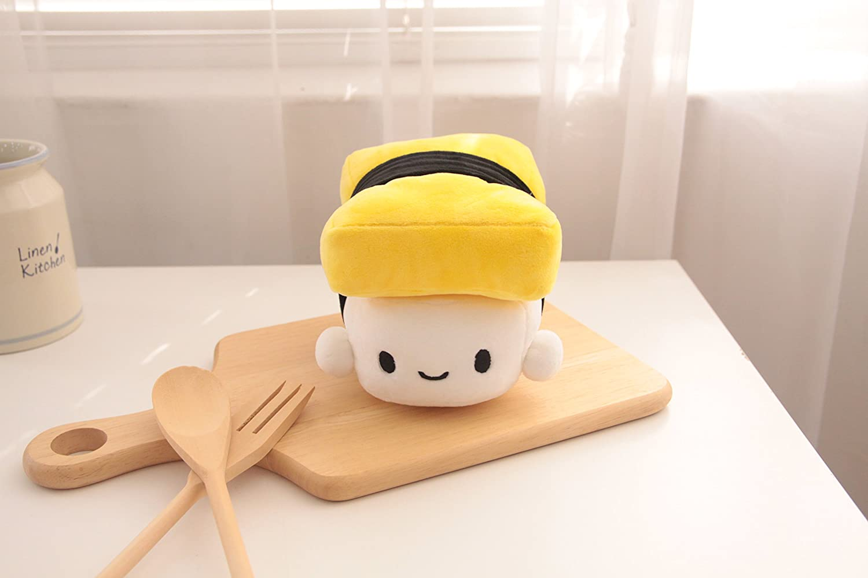 Amazon.com: Cojines con forma de sushi, de 6 pulgadas, de ...