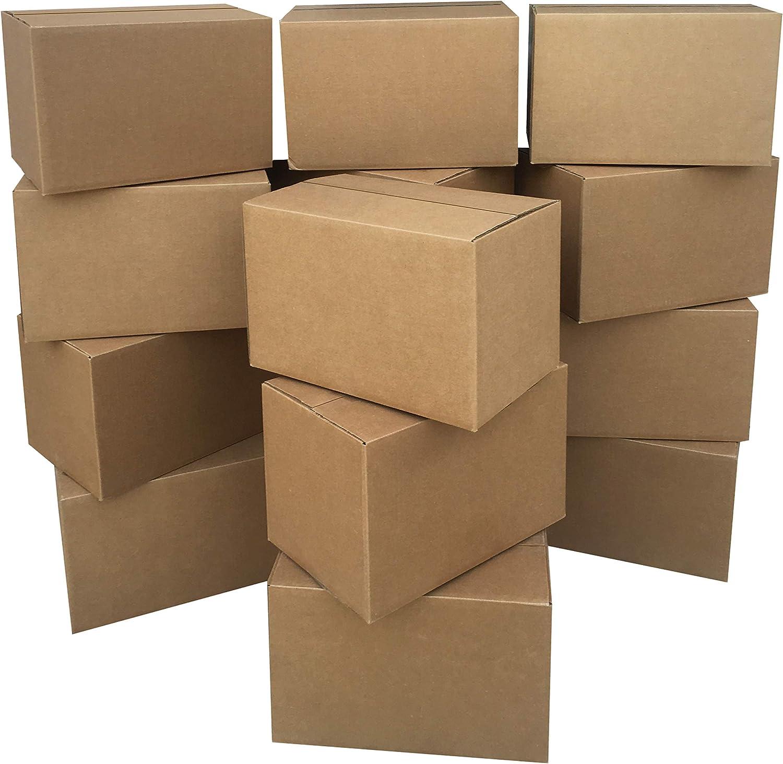 "AmazonBasics Moving Boxes - Small, 16"" x 10"" x 10"" 15-Pack"