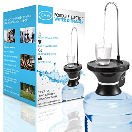Amazon.com: OKOA - Dispensador de agua de 5 galones ...
