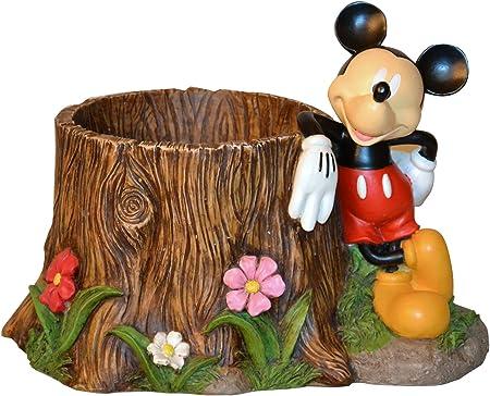 Amazon Com Woods International 4032 Mickey Mouse Stump Planter