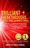 Brilliant Breakthroughs for the Small Business Owner: Fresh Perspectives on Profitability, People, Productivity, and Finding Peace in Your Business (Brilliant Breakthroughs Inc. Book 3)