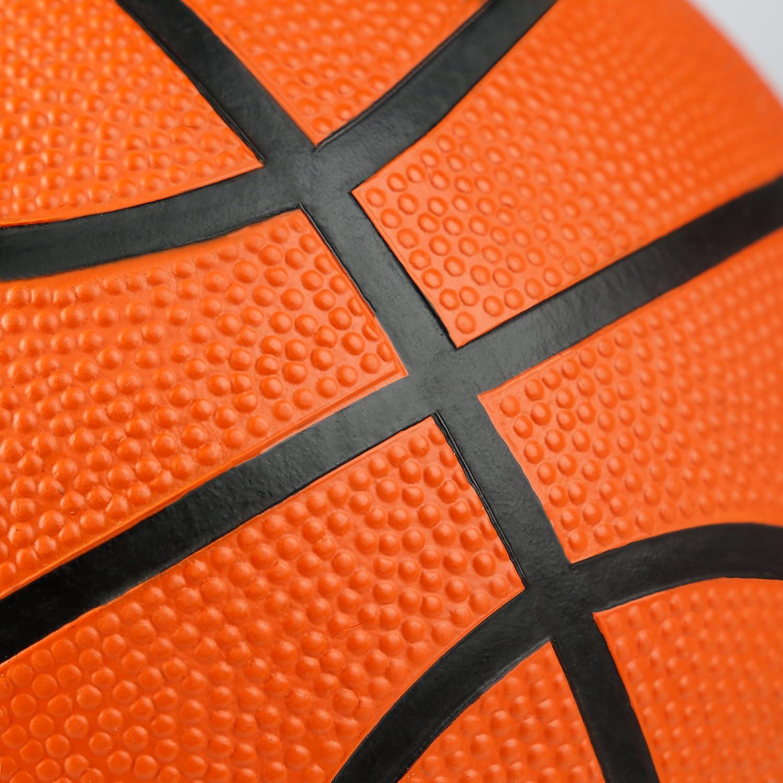 id/éal pour toutes les surfaces int/érieures et ext/érieures tr/ès bonne prise et toucher agr/éable gr/âce /à sa surface recouverte de picots couleur: orange Ballon de basket Ultrasport