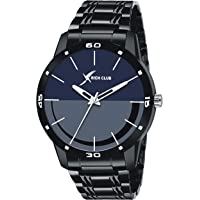 Rich Club RC-5025 (Blue) Metal Strap Casual Analogue Watch for Men and Boys