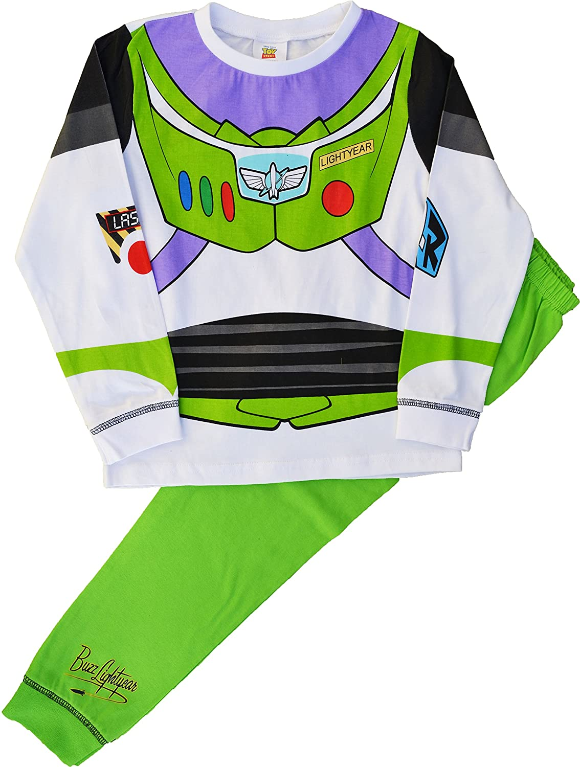 Disney Baby Boys' Buzz Pyjamas Novelty Dress Up Pyjama