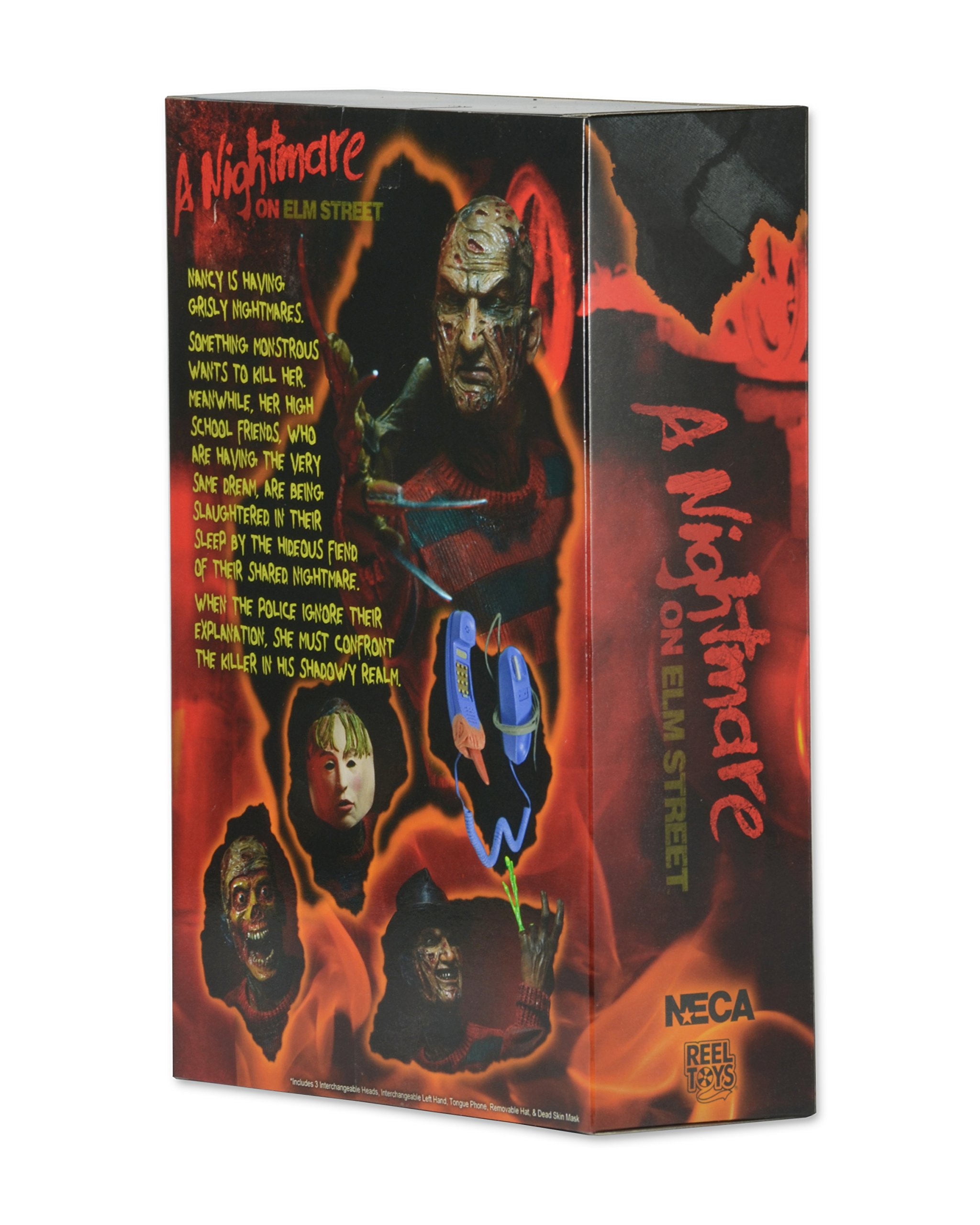 NECA - Nightmare on Elm Street - 7'' Scale Action Figure - Ultimate Freddy