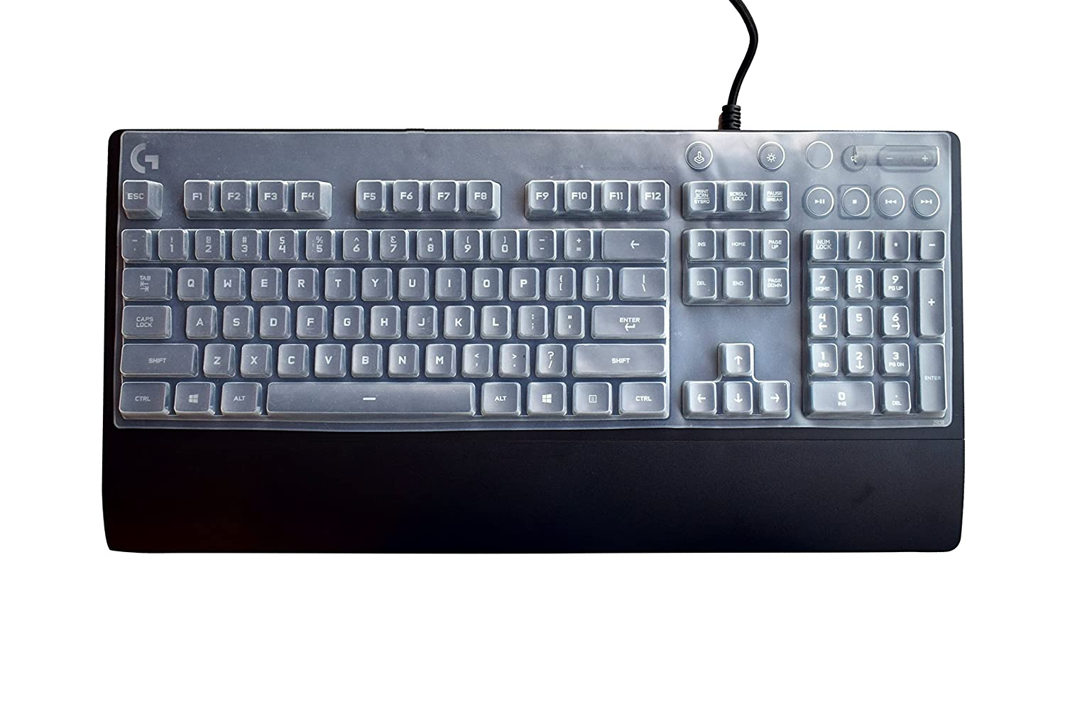 7e1acb19f46 Leze - Ultra Thin Keyboard Cover Protector for Logitech G810 Orion Spectrum  RGB Mechanical Gaming Keyboard - Clear: Amazon.ca: Electronics
