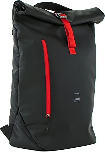 Acme Made - North Point Roll-Top Daypack (Matte Black/Tangerine) (AM20211)