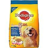 Pedigree Chicken & Vegetables,Dry Dog Food for Adult Dogs , 1.2Kg