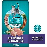 Purina ONE Dry Cat Food, Hairball Formula 1.8 kg