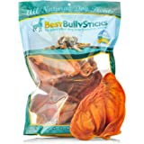 USA Pig Ears by Best Bully Sticks - Thick-Cut, All Natural Dog Treats