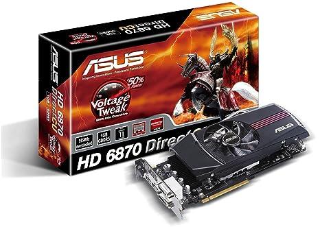 ASUS EAH6870 DC/2DI2S/1GD5 Radeon HD6870 1GB GDDR5 - Tarjeta ...