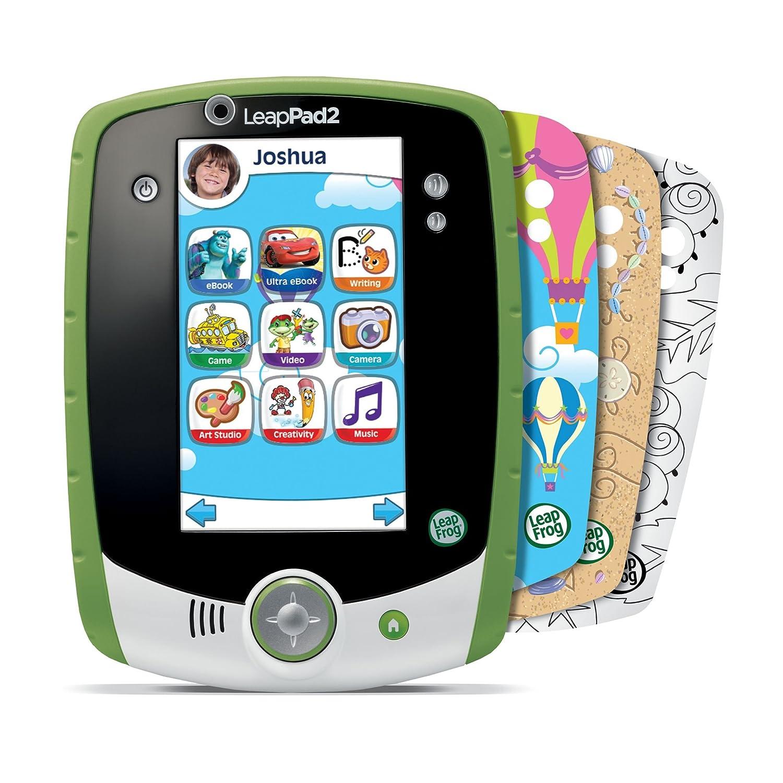 Amazon.com: LeapFrog LeapPad2 Kids' Learning Tablet (Custom Edition),  Green: Toys & Games