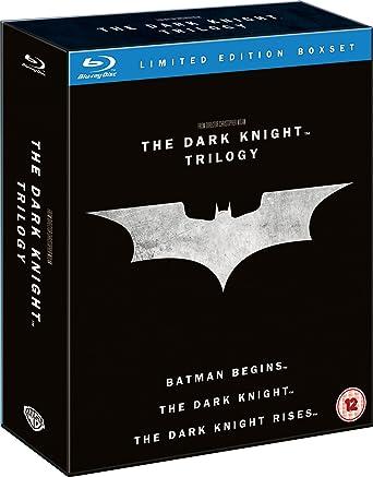 The Dark Knight Trilogy Blu Ray Import Amazon Fr Christian