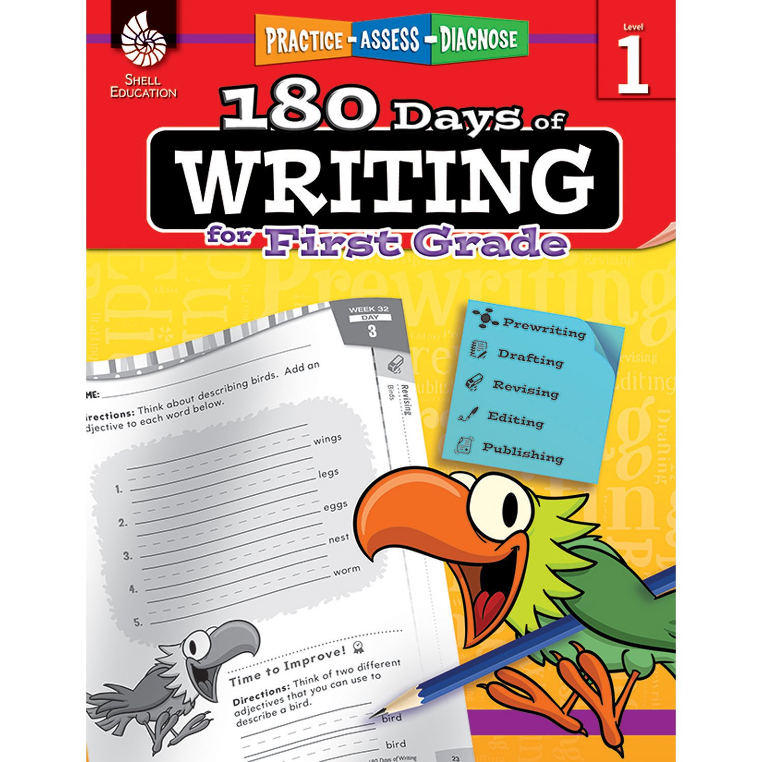 Amazon.com: 180 Days of Writing for First Grade - An Easy-to-Use ...