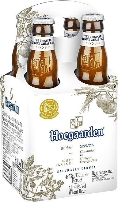 Cerveza Hoegaarden Botella Caja Pack 6X4X33Cl: Amazon.es: Alimentación y bebidas