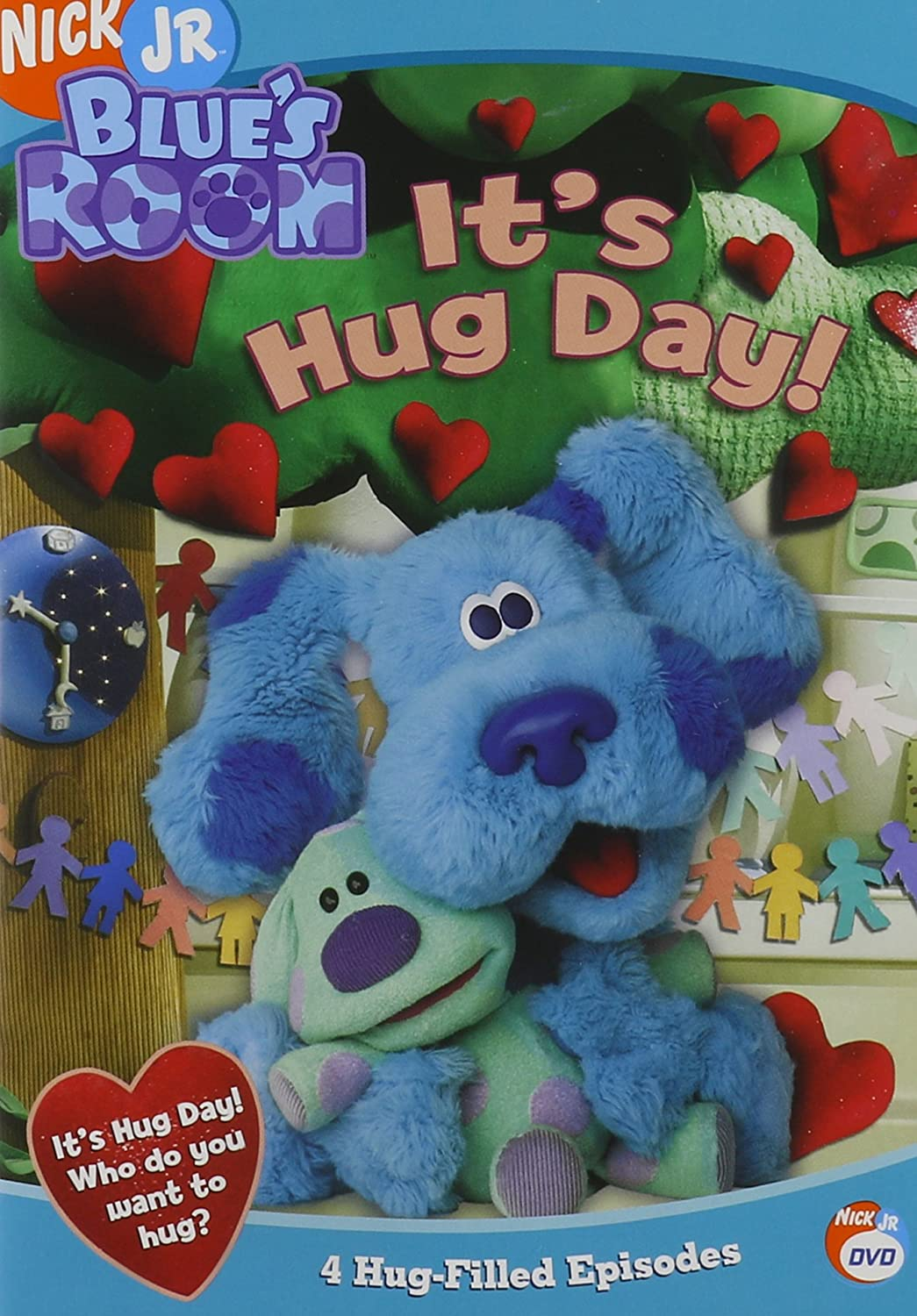 Amazon.com: Blue\'s Clues - Blue\'s Room - It\'s Hug Day: Steve Burns ...