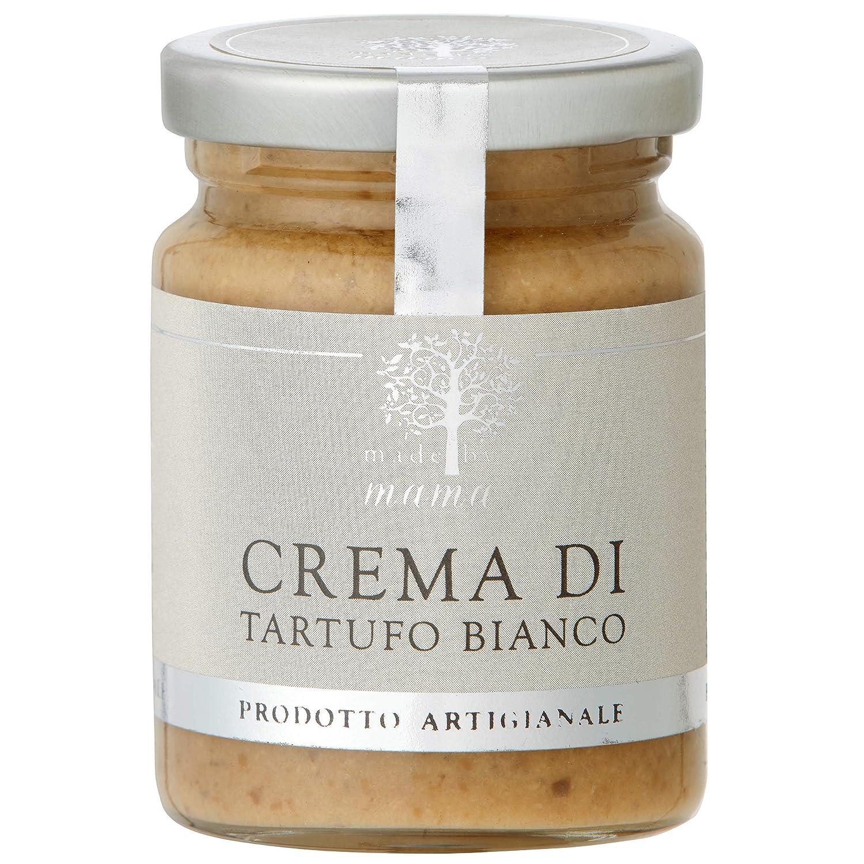 Made by Mama Italian Truffle Cream, Crema Di Tartufo, 2.8 OZ (White Truffle Cream)