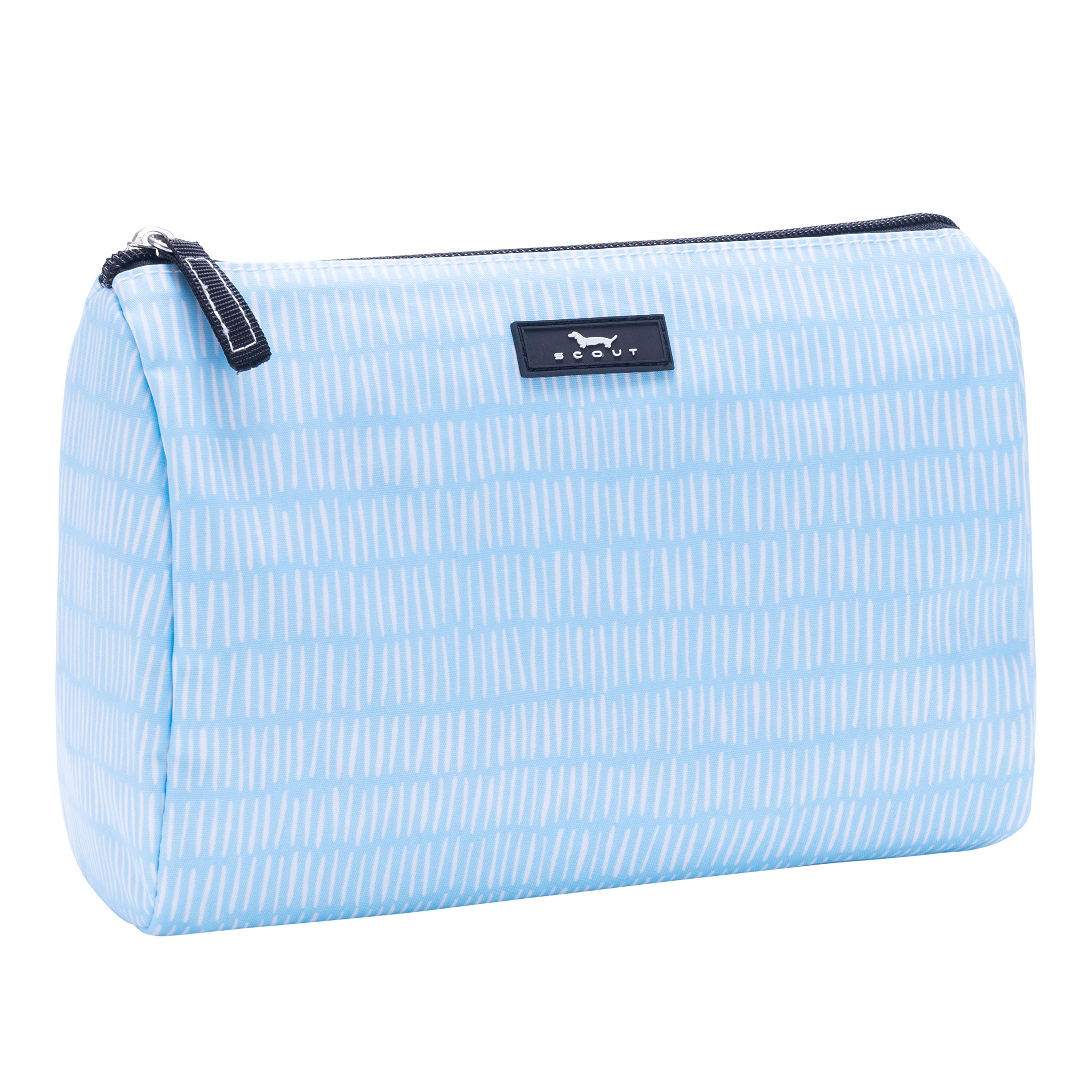 SCOUT Packin' Heat Makeup & Cosmetic, Accessory or Toiletry Bag, Interior Pocket, Water Resistant, Zips Closed, Tally Girl