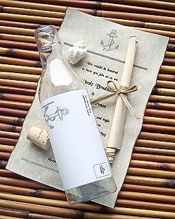 Amazoncom Message In A Bottle Destination Wedding Invitation