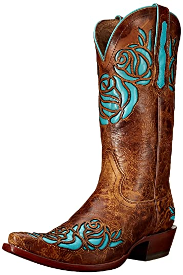 Ariat Damens's Dusty Rose Rose Dusty X Toe Western Cowboy Boot ... 667be0