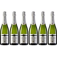 Jaume Serra Brut Nature Cava Brut - Pack de 6 Botellas x 750 ml