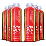 Cold Pressed Watermelon Juice (WTRMLN WTR) - Deliciously Hydrating 100% Fresh Fruit Juice, Pulp-Free, Natural Electrolyte Sports Drink With No Added Sugar or Water, 6 Pack, 1 Liter Bottles