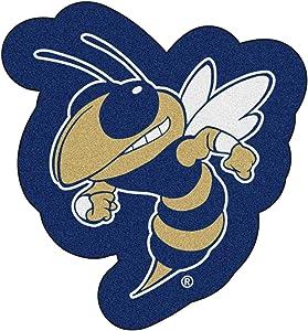Fanmats Georgia Tech Yellow Jackets Mascot Mat