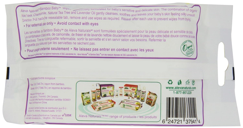 Amazon.com : Bambú bebé Toallitas Viajes, 30 Count (paquete de 12) : Baby