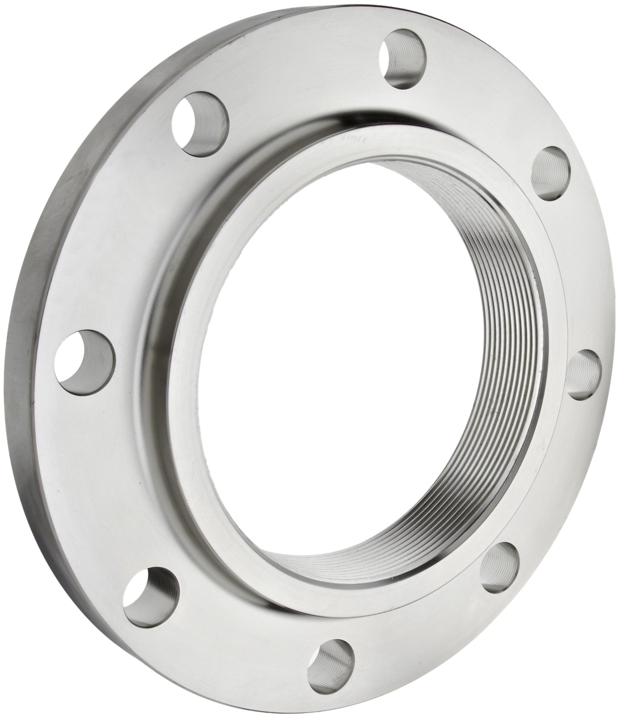 Stainless Steel 316/316L Pipe Fitting, Flange, Threaded, Class 150, 6'' NPT Female