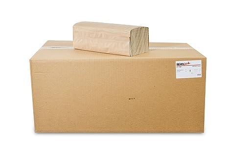 Quicky HP-99048 - Pack de 5000 toallitas de mano plegadas, 1 capa,