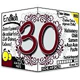 Endlich 30 - Eine tolle Geschenkidee zum 30. Geburtstag und ein witziges Geschenk für Männer und Frauen!