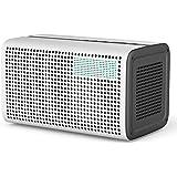 GGMM E3 Altoparlante Intelligente senza Fili Wi-Fi+Bluetooth, Audio Multi-room, Suono Stereo con Ripetitore Wifi, Orologio LED e Porta USB per la Ricarica dei Dispositivi Apple e Android, Airplay / Spotify / iHeartRadio
