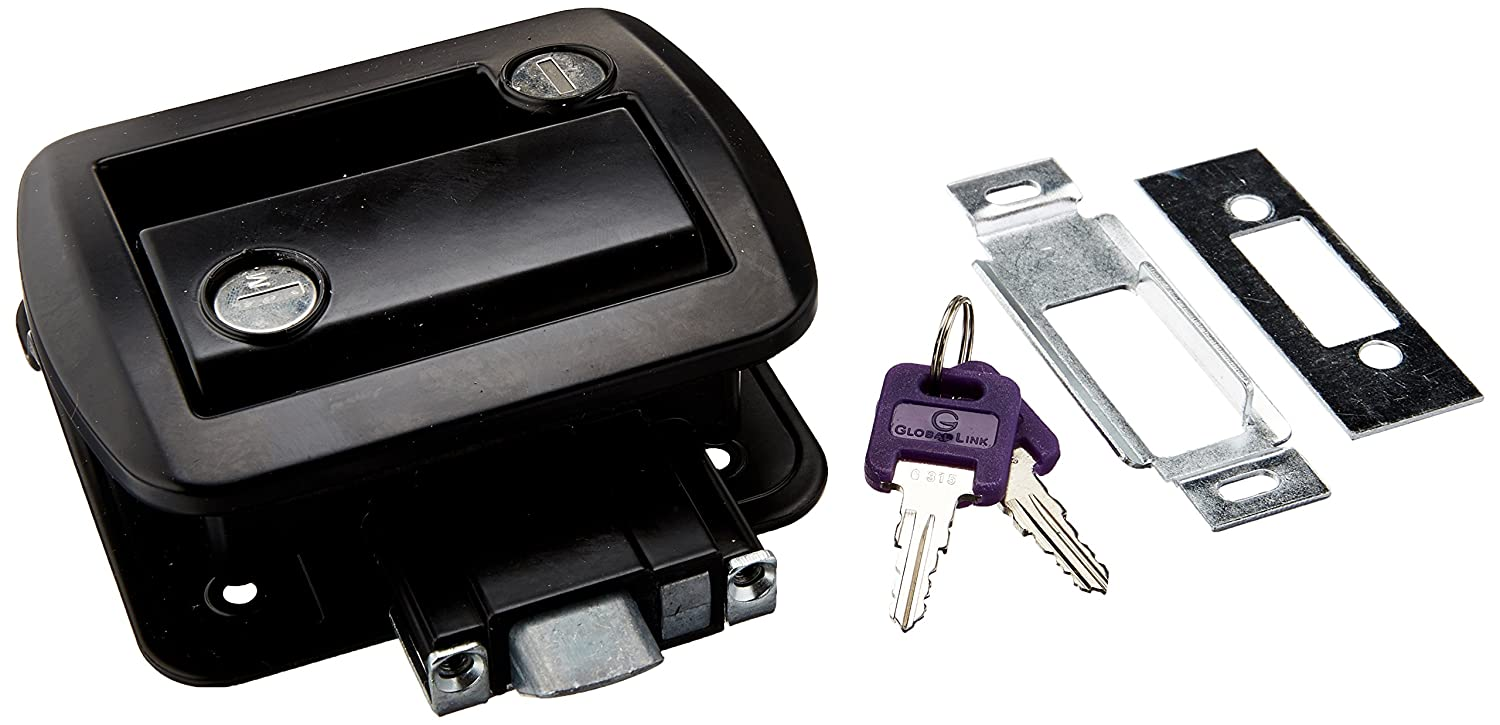 AP Products 013-572 Chrome Global Travel Trailer Entrance Lock Set