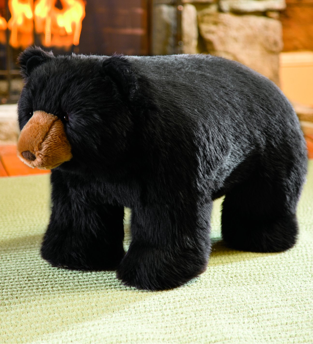 Black Bear Footstool Plow & Hearth