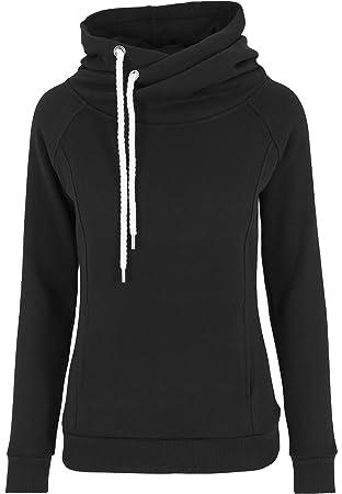7a6fc4206114 Urban Classics Women s Pullover Raglan High Neck Hoody Jumper ...