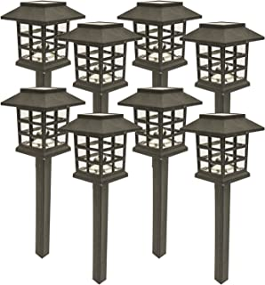 Amazon solar garden lights outdoor decorations home decor sogrand 8pcs packsolar lights outdoor lightlandscape lightingholiday last mozeypictures Gallery