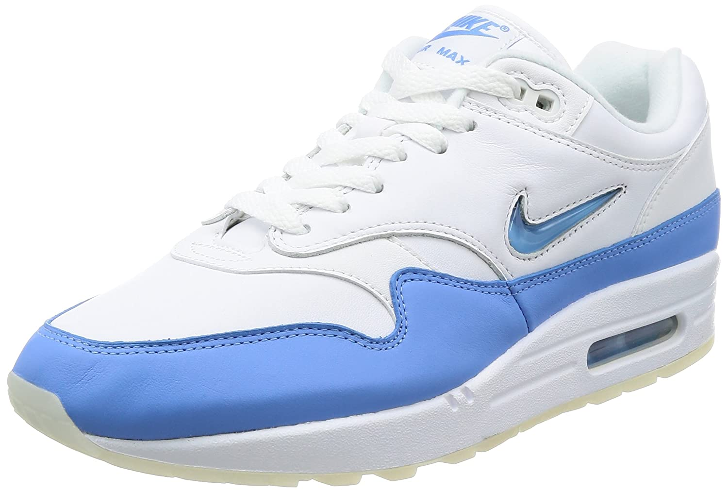 Nike Air Max 1 Premium SC Mens Running Trainers 918354 Sneakers Shoes B00GOFDBM4 11 D(M) US|White, Unversity Blue