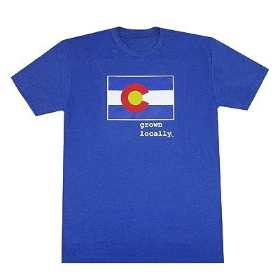 Aksels Grown Locally Colorado Men's T-Shirt | Amazon.com