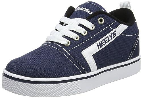 Heelys GR8 Pro, Zapatillas Adultos Unisex, Azul (Navy/White Navy/White), 36.5 EU
