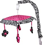 Musical Mobile for Hot Pink Zebra Baby Bedding Set