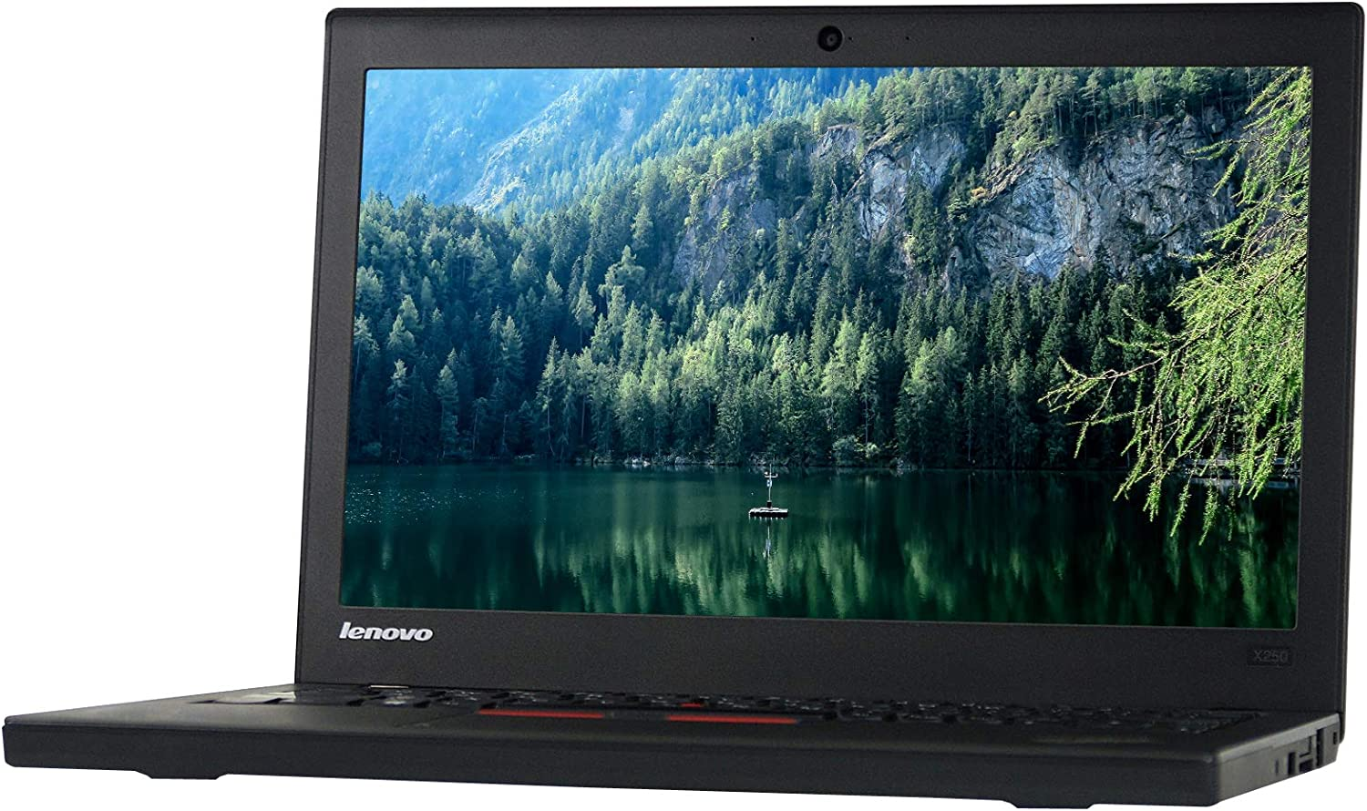 Lenovo ThinkPad X250 12.5in Laptop, Core i5-5300U 2.3GHz, 8GB Ram, 240GB SSD, Windows 10 Pro 64bit (Renewed)