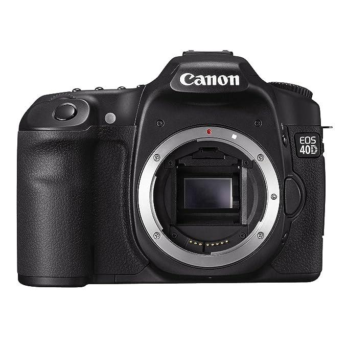 Canon EOS 40D - Cámara Réflex Digital 10.5 MP (Cuerpo): Amazon.es ...