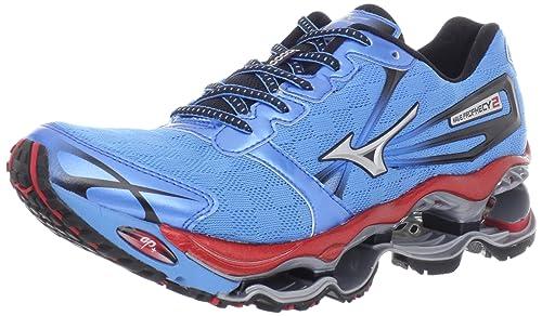 new product 5b2f1 40824 Mizuno Men s Wave Prophecy 2 Running Shoe,Malibu Blue,9.5 ...