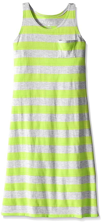 dc3440f63 Amazon.com  Pinkhouse Girls  Racer Back Striped Maxi Dress  Clothing