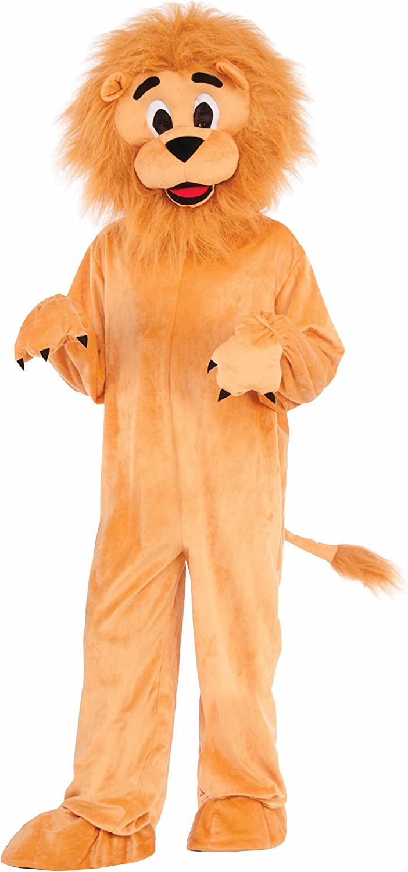 Kids Lion Mascot Costume