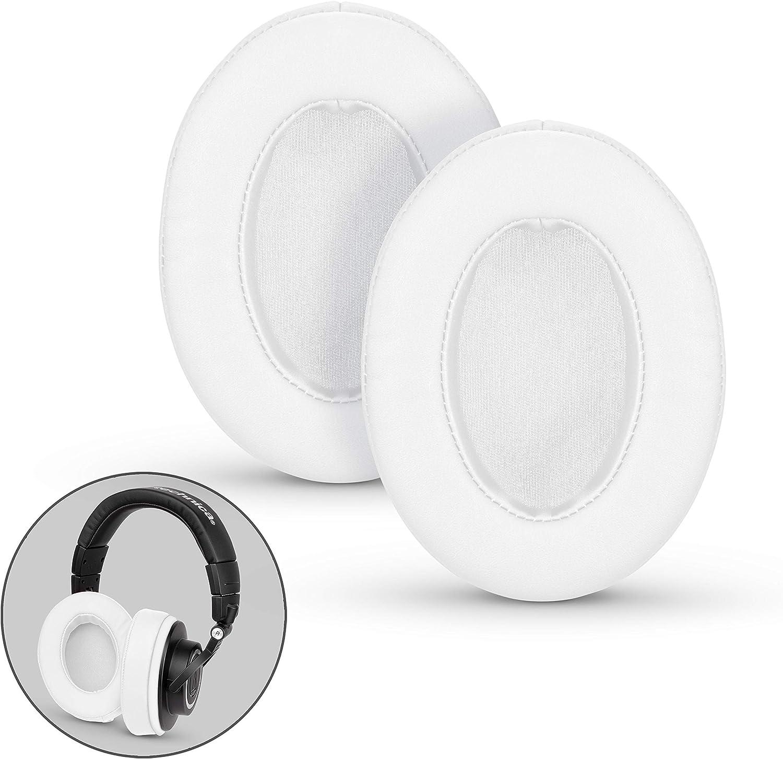 almohadillas large repuesto para auriculares, blanco