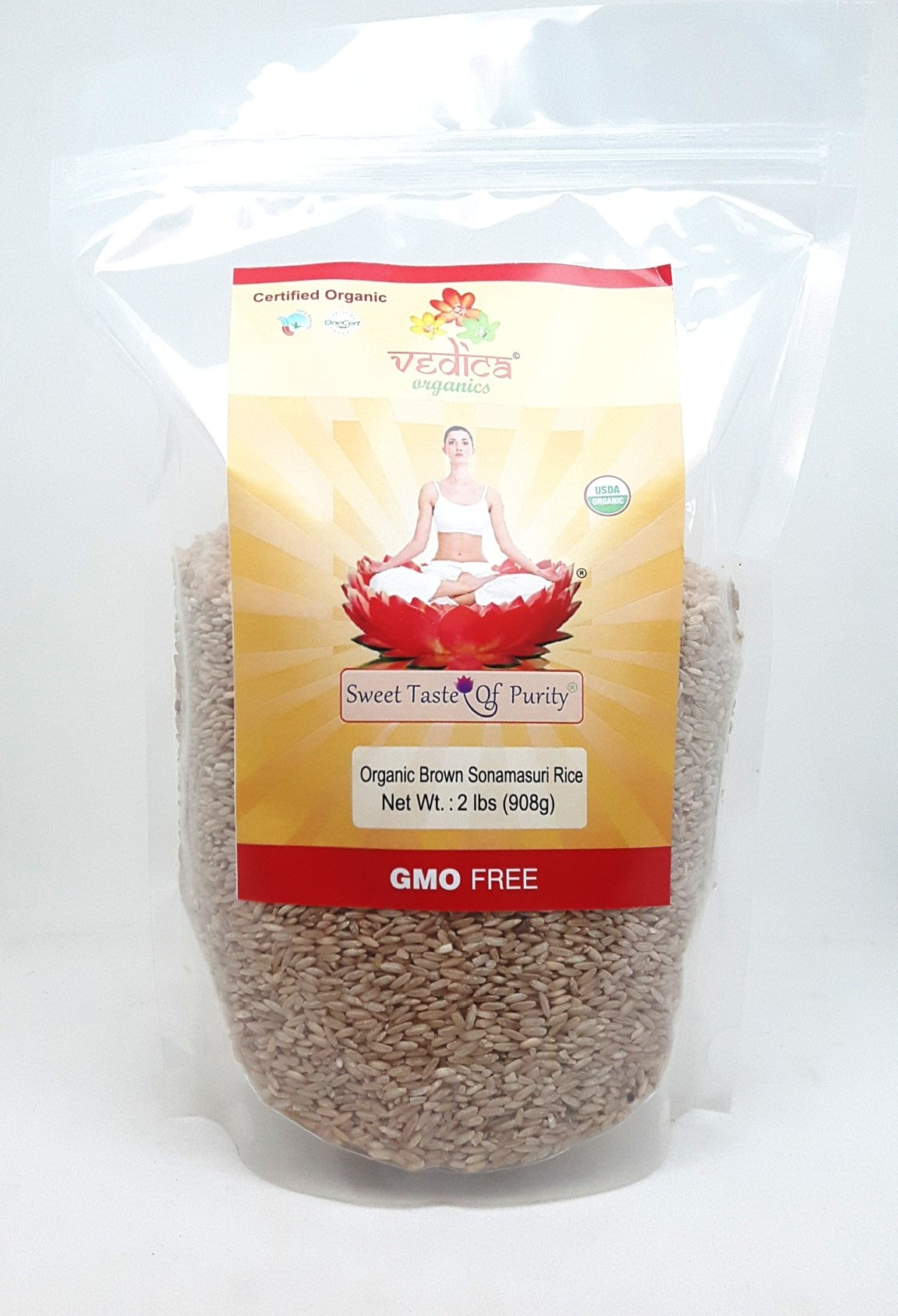 Organic Sonamasuri Brown Rice