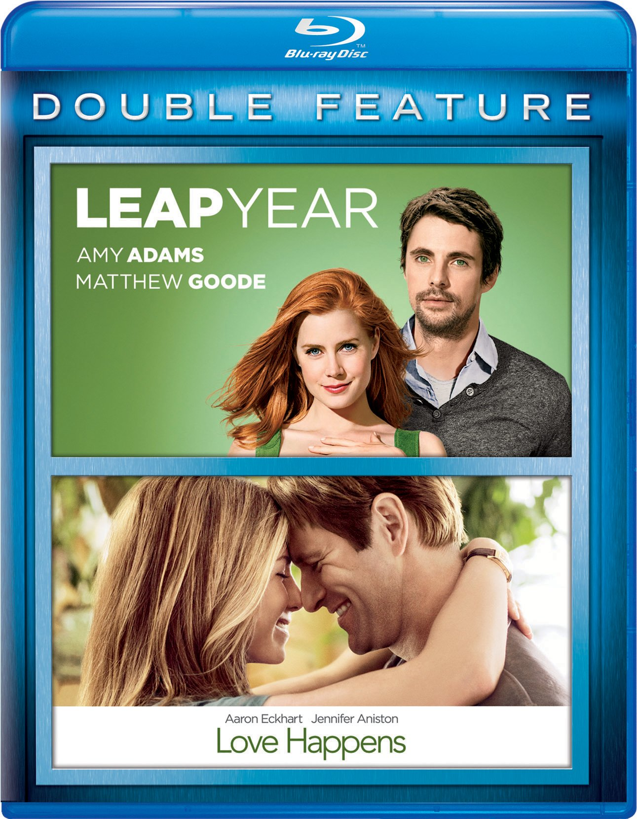 Blu-ray : Leap Year/ Love Happens (2 Pack, Snap Case, 2 Disc)